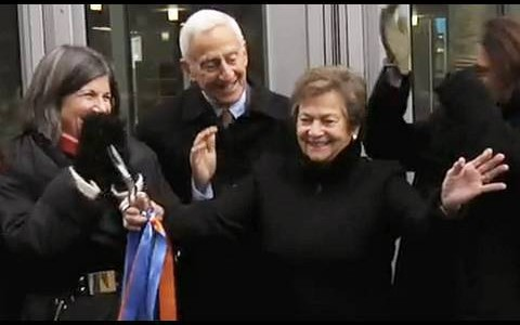 Back to Barnard – Diana Center Ribbon Cutting!